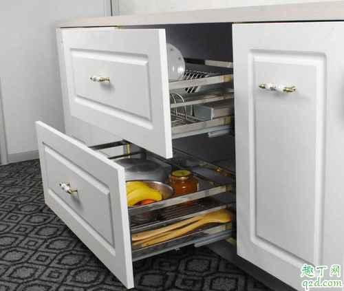 橱柜装拉篮好还是不装拉篮好 橱柜装拉篮的优缺点2